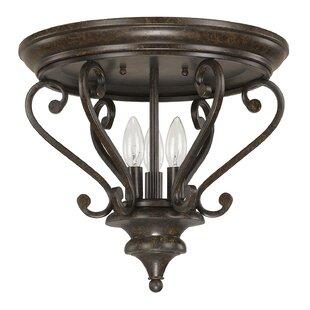 Capital Lighting Maxwell 3-Light Flush Mount