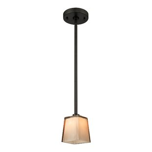 Chapa 1-Light Square/Rectangle Pendant by Latitude Run
