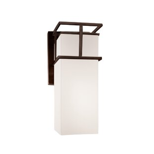 Inexpensive Luzerne LED Outdoor Sconce By Brayden Studio