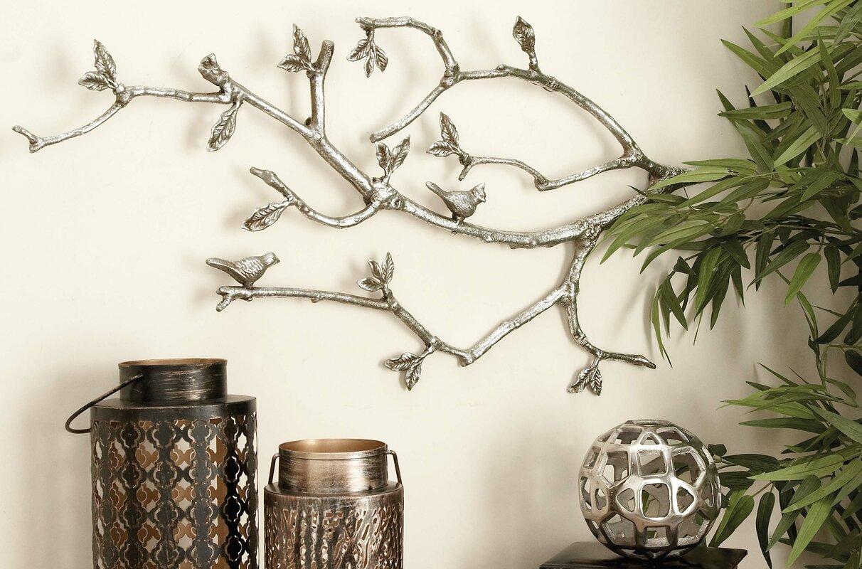 Aluminum Branch Wall Dcor
