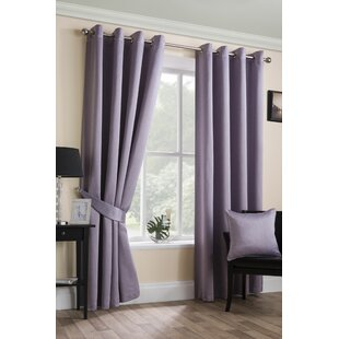 Bright Oxford Check Lined Curtains Tiebacks Pair Brand New Curtains & Pelmets Home, Furniture & Diy
