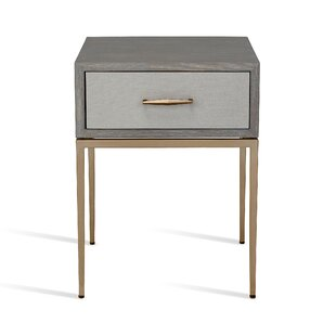 Corinna 1 Drawer Nightstand