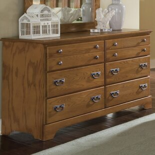 August Grove Tottenville 6 Drawer Double Dresser