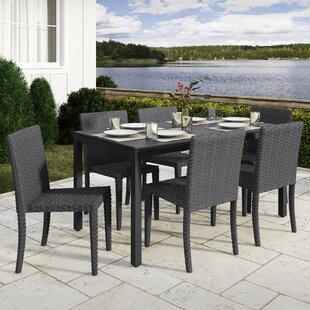 Rosecliff Heights Killingworth 7 Piece Outdoor Dining Set