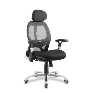 Tambrook High-Back Mesh Desk Chair By Symple Stuff