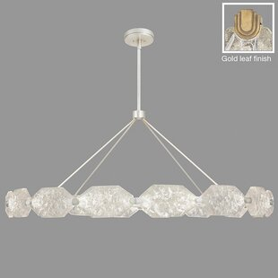 Allison Paladino 32-Light Wagon Wheel Chandelier by Fine Art Lamps