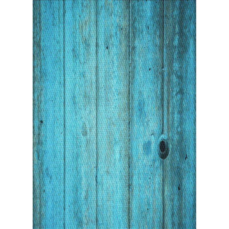 East Urban Home Abstract Wool Light Blue Area Rug Wayfair