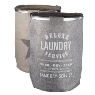 Stars Laundry Basket Set By Symple Stuff