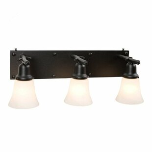 Steel Partners Rivets 3-Light Vanity Light