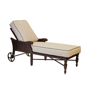 Leona Jakarta Chaise Lounge with Cushion