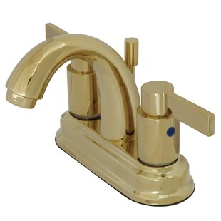 Kingston Brass NuvoFusion Centerset Bathroom Sink Faucet with Retail Pop-up Image