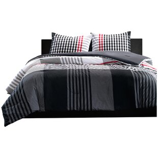 Fuentes Reversible Duvet Cover Set by Wade Logan