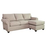 Layla Right Hand Facing Sectional with Ottoman by Edgecombe Furniture