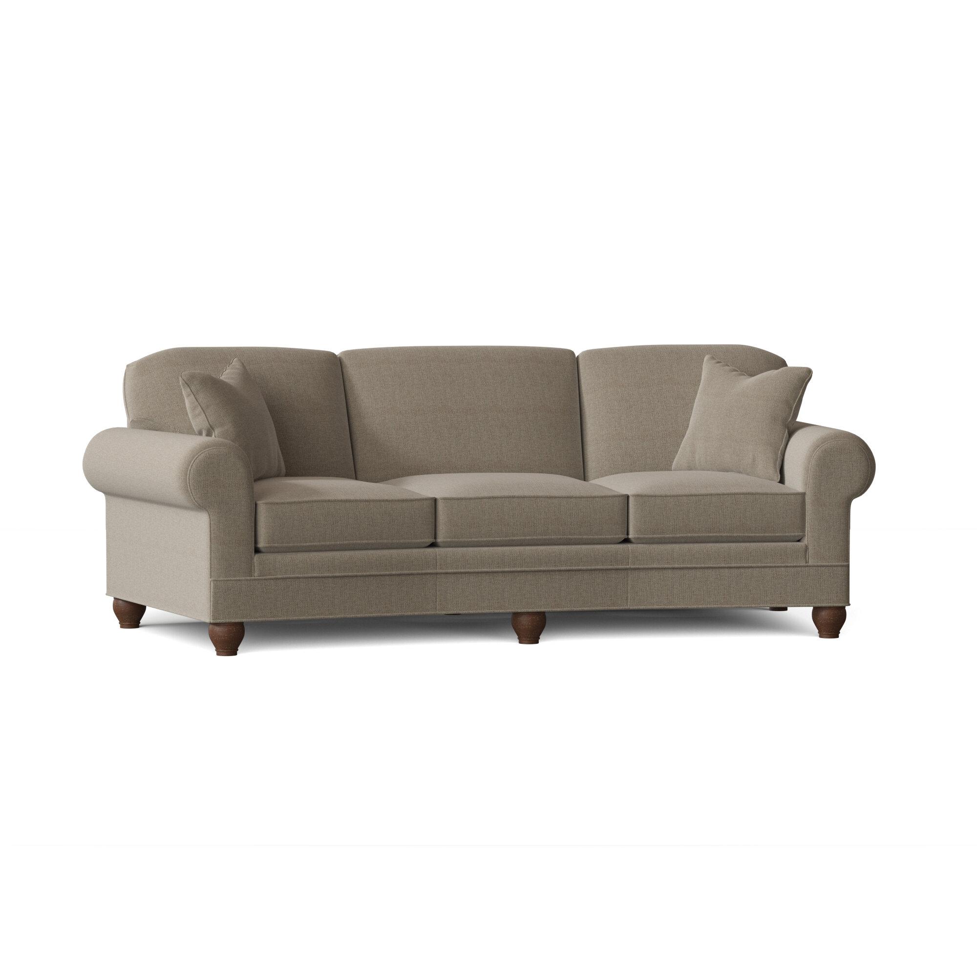 Fairfield Chair Crosby Curved 100 Rolled Arm Sofa Perigold