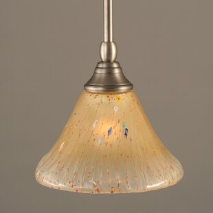 Owens Stem Mini Pendant With Hang Straight Swivel by Red Barrel Studio