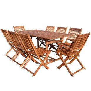 Deals Clemons 8 Seater Dining Set