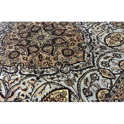Bokara Rug Co Inc Sona Oriental Hand Knotted Wool Cream Area Rug Perigold