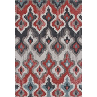 Kincaid Weather-Proof Gray Indoor/Outdoor Area Rug