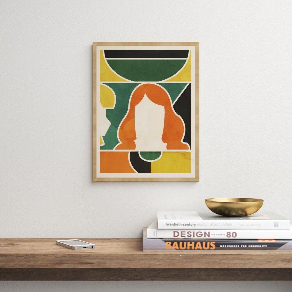 Modern Framed Mid Century Wall Art Allmodern