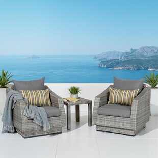 Castelli 3 Piece Conversation Set with Cushions