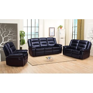 Downend Reclining 3 Piece Living Room Set by Red Barrel Studio