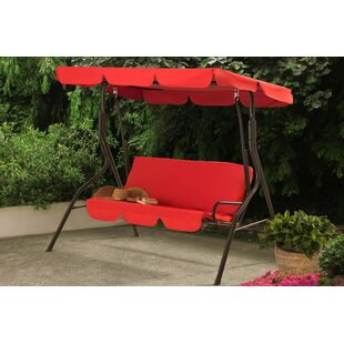 Erikson Porch Swing with Stand by Charlton Home