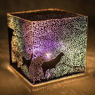 Christmas Eve 8 Table Lamp