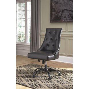 Charlton Home Darvin Swivel Office Chair