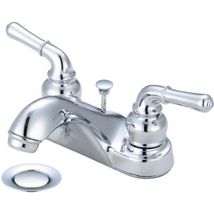 Olympia Faucets Centerset Standard Bathroom Faucet with Drain Assembly