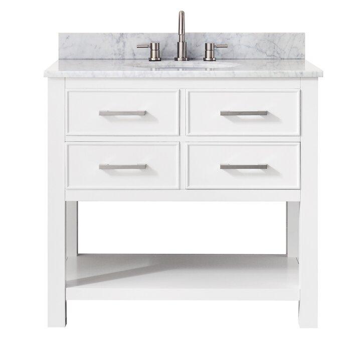 Martina 37 Single Modern Bathroom Vanity Set