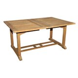 Mcintyre  Extendable Solid Wood Dining Table