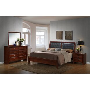 Alidge Panel 4 Piece Bedroom Set