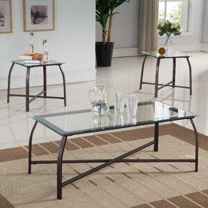Kassandra 3 Piece Coffee Table Set