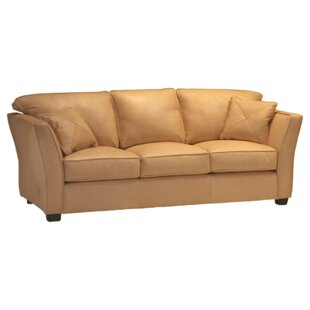 Manhattan Leather Sofa by Omnia Leather