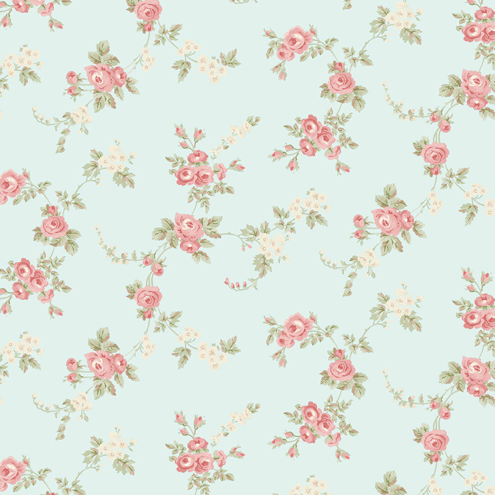 Ophelia Co Harlan 32 7 X 20 5 Rose Floral Trail Roll