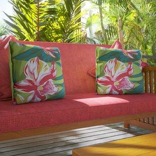 Balamos Indoor/Outdoor Polyester Throw Pillow