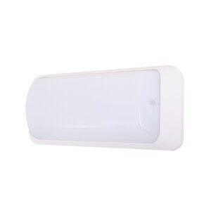 Best Reviews Murchison Invisible LED Outdoor Flush Mount with Motion Sensor By Ebern Designs
