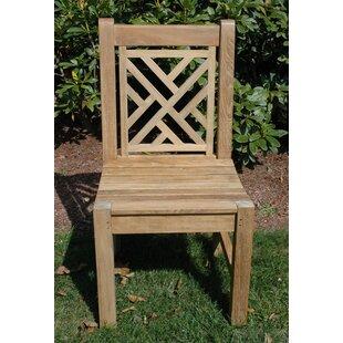 Regal Teak Chippendale Teak Patio Dining Chair