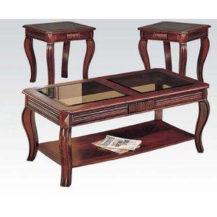 Fleur De Lis Living Treutlen 3 Piece Coffee Table Set