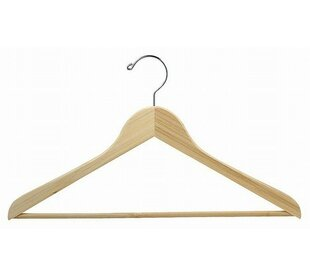 Compare & Buy Bamboo Suit Hanger with Bar (Set of 25) ByOnly Hangers Inc.