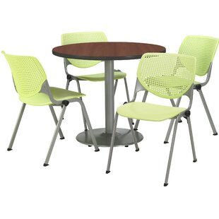 5 Piece Dining Set by KFI Seating Great Reviews
