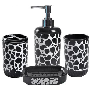 Affordable Rackers 4 Piece Bathroom Accessory Set ByWrought Studio