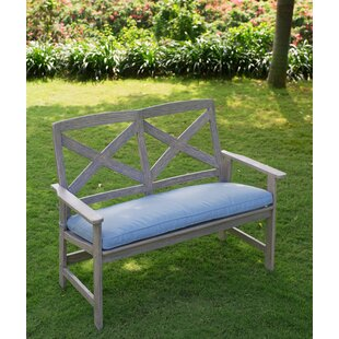 Beachcrest Home Englewood Wood Garden Bench