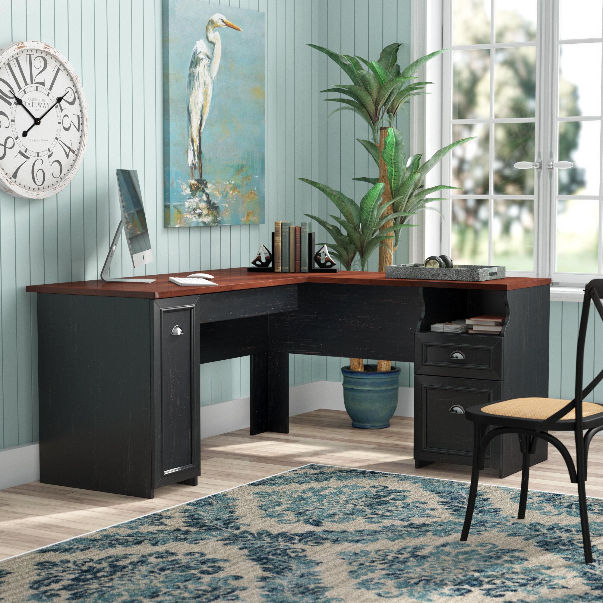 with home design hutch desk l desks shaped computer ideas