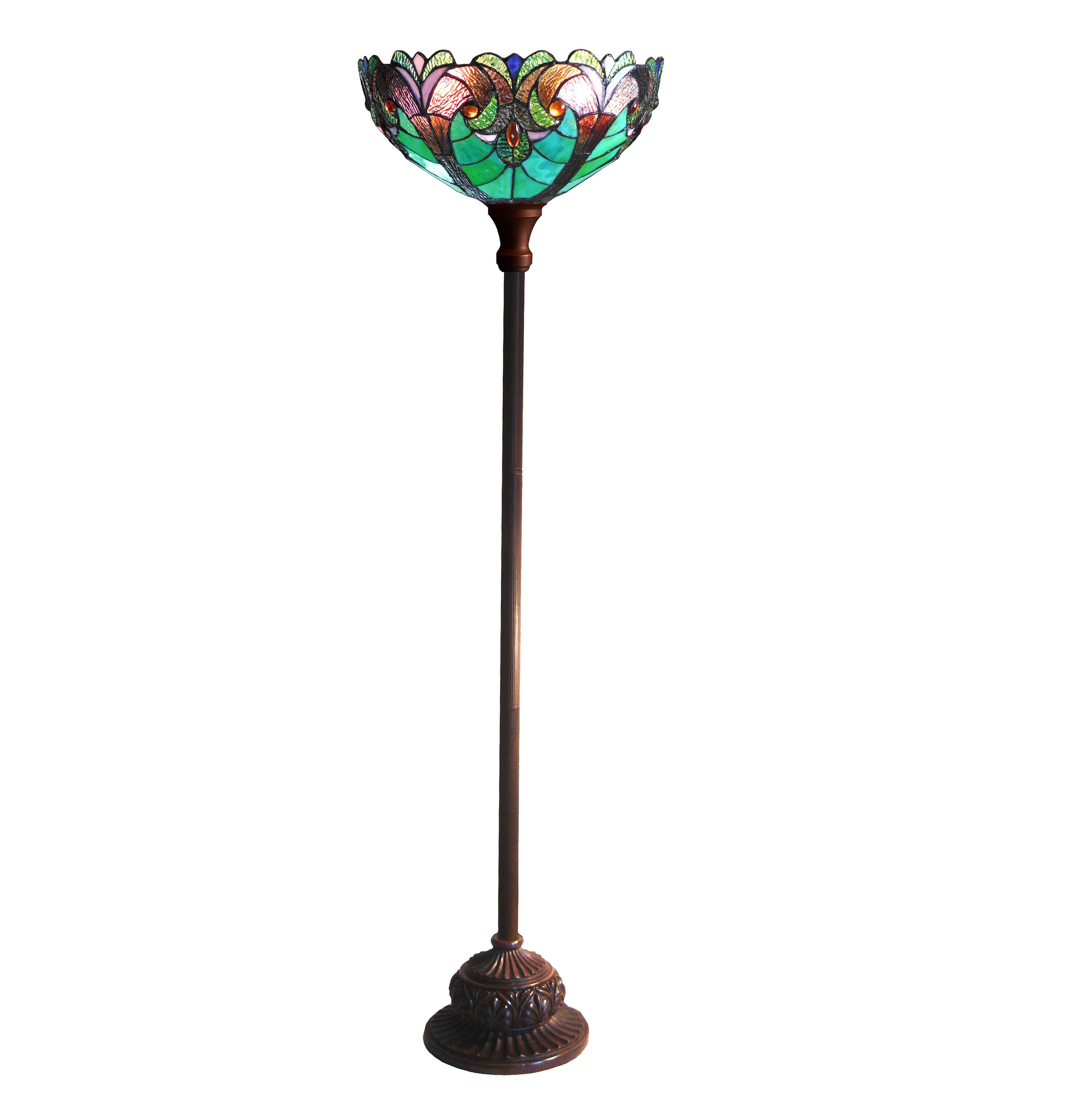 Astoria Grand Laurie 71 Torchiere Floor Lamp Reviews Wayfair