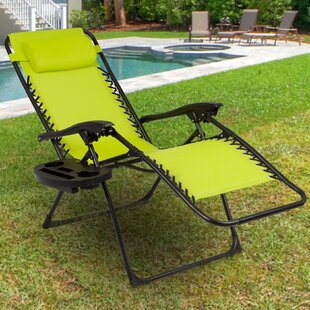 Freeport Park Salem Sling Reclining Chaise Lounge (Set of 2)