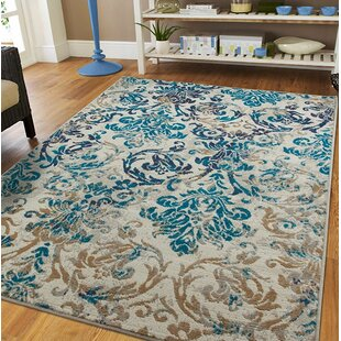 Kincheloe Gray/Blue Indoor/Outdoor Area Rug