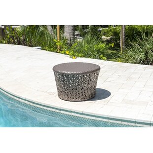 Maldives Round Wicker Side Table