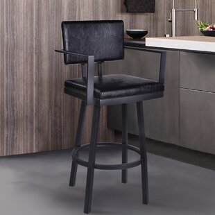 Reviews Nakagawa 30 Swivel Bar Stool by Williston Forge Reviews (2019) & Buyer's Guide