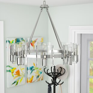 Top Rodrigues 8-Light Shaded Chandelier By Latitude Run
